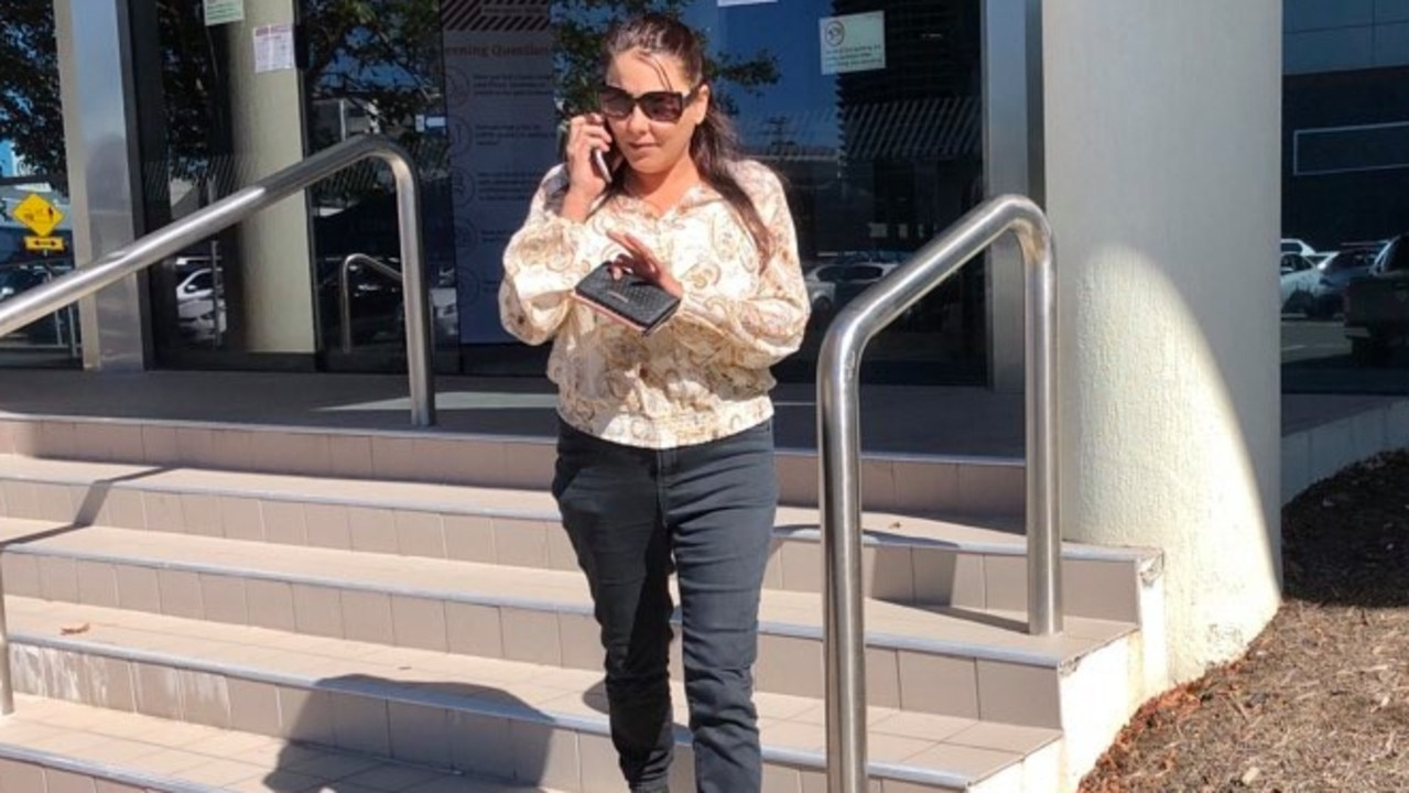 SOCIAL MEDIA IMAGE DISCUSS USE WITH YOUR EDITOR - Jai Dylan Clarke's mum leaves court after he was refused bail on charges relating to an alleged box-cutter assault.