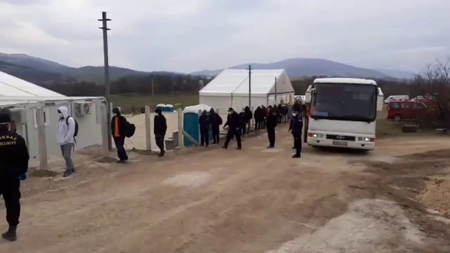 Migrants Sleeping Rough in Bosnia Moved to Camp With Medical Services