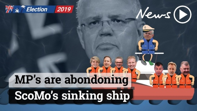 Scott Morrison's sinking ship stirs change amongst Liberal MP's