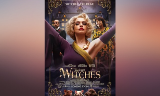 The Witches starring Anne Hathaway