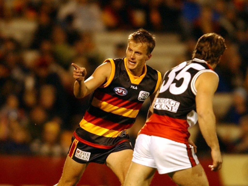 Matthew Shir played 11 times for the Crows. Picture: AFL