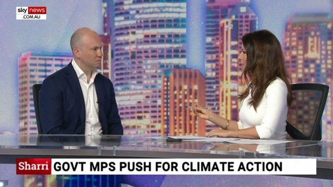 Matt Kean: Government MPs push PM for climate action