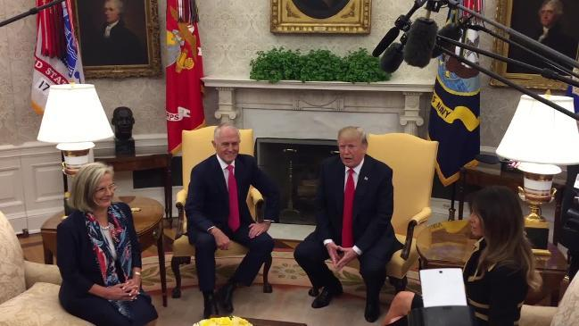 PM and Trump meet in White House