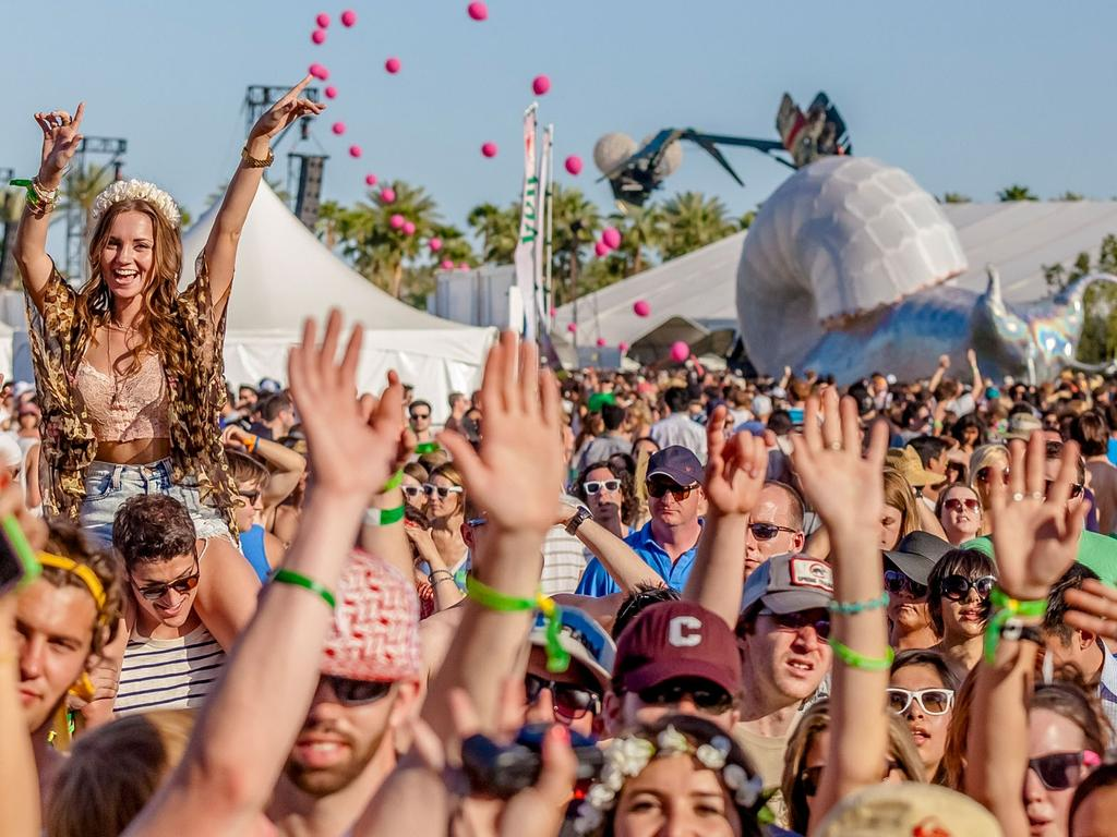 Given SXSW has been called off, is it possible Coachella could be next? Picture: Gabriel Olsen/FilmMagic/Getty (people in this photo do not have coronavirus)