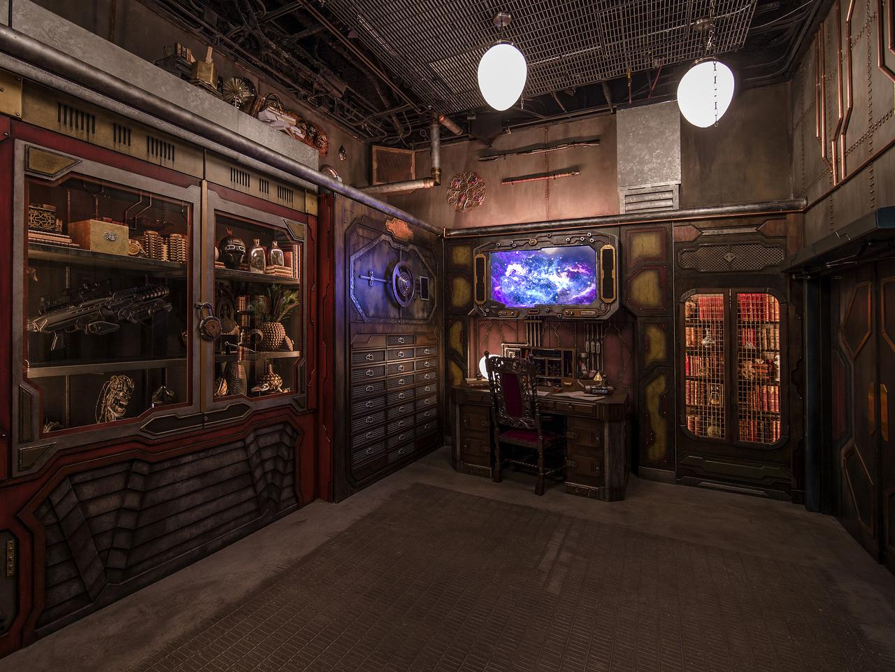 First Look At Disneyland S Guardians Of The Galaxy Mission Breakout Ride Escape Com Au