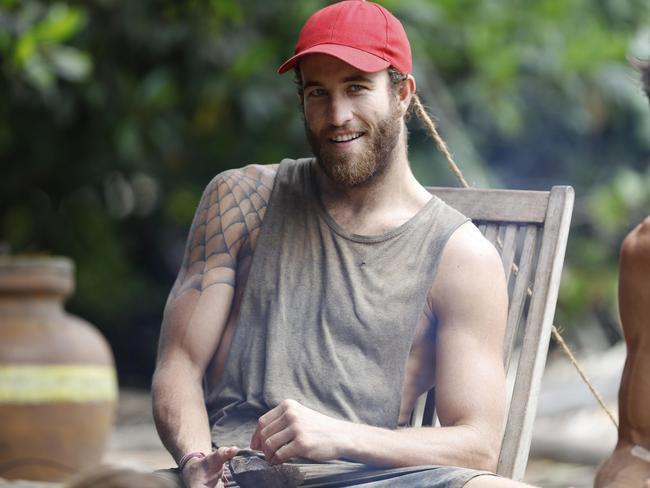 Sam Webb said he learnt a lot about himself during Survivor Australia. Picture: Nigel Wright