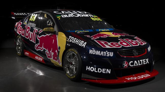 The new livery Red Bull will run in the 2015 V8 season.