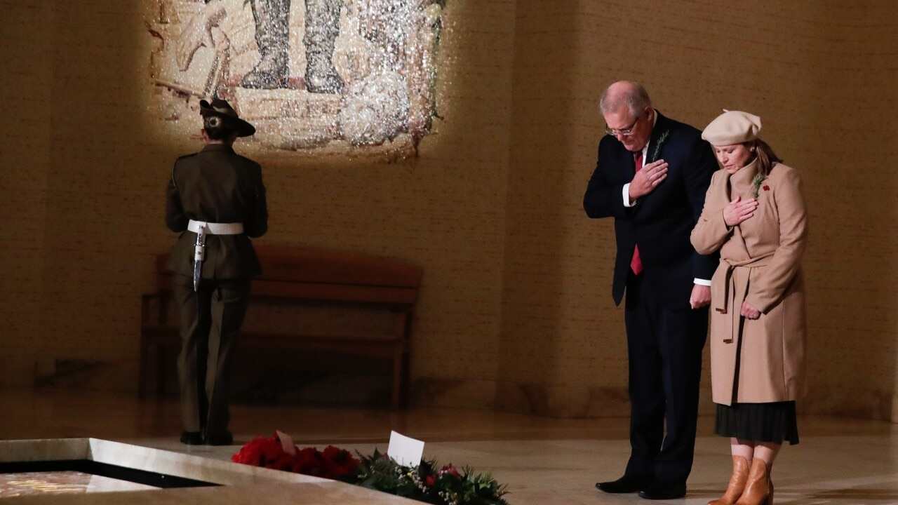 PM honours Australian troops on 75th anniversary of the end of WWII