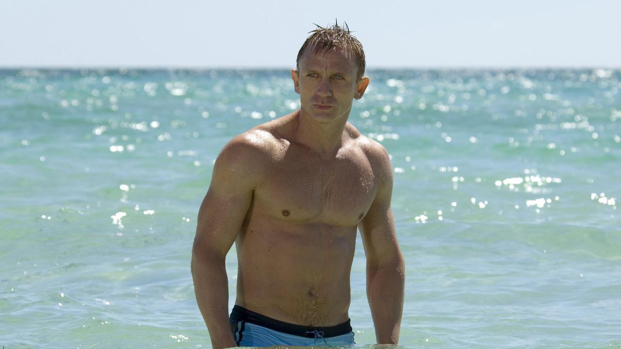 Daniel Craig as Bond in Casino Royale.