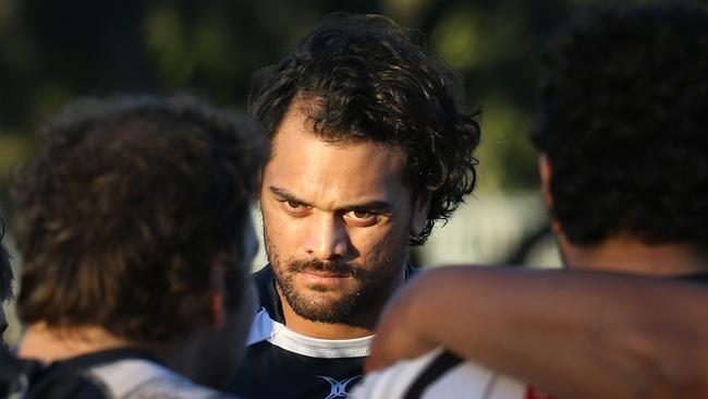 Karmichael Hunt has played four games for Souths this season. Picture: Glenn Hampson