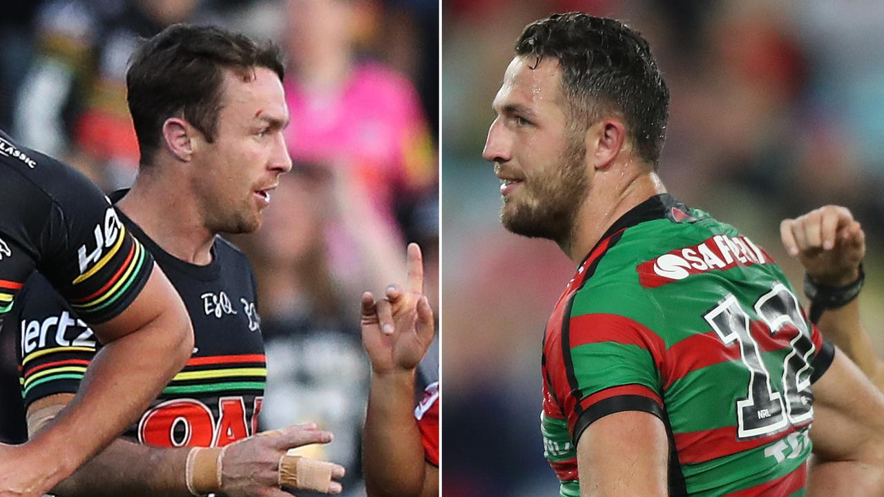 James Maloney and Sam Burgess are headed to the NRL judiciary.
