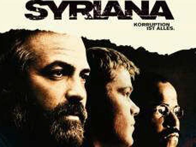 George Clooney injured himself while filming Syriana.