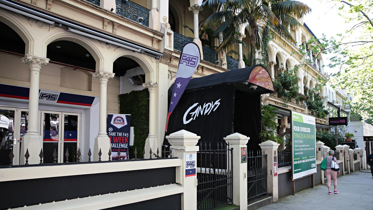 World Bar and Candy's night clubs were put up for sale in 2019. Picture: Adam Yip