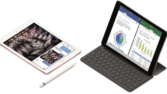 Professional iPad ... The 9.7 inch iPad Pro is compatible with the Apple Smart Keyboard and Apple Pencil. It offers the productivity features of the top-end iPad Pro 12-inch but in a more convenient size.