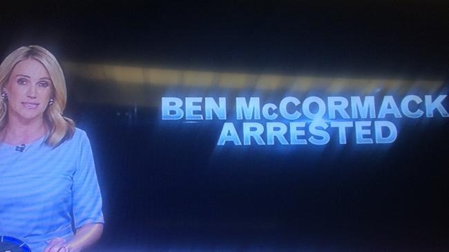 Leila McKinnon responds to star reporter Ben McCormack's arrest on A Current Affair.