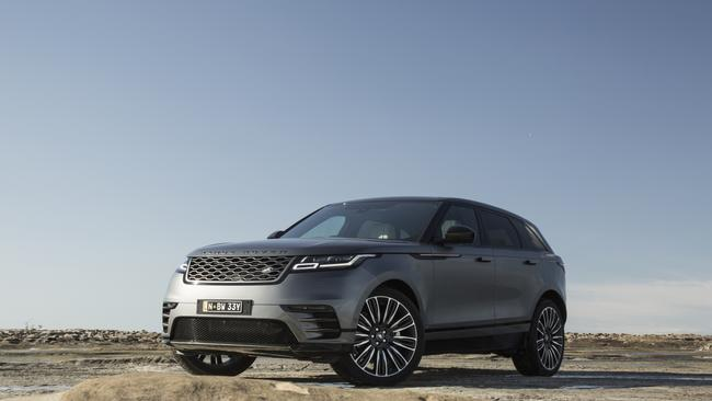 The new Range Rover Velar has arrived in Australia, but it comes with a hefty price. Picture: Supplied.