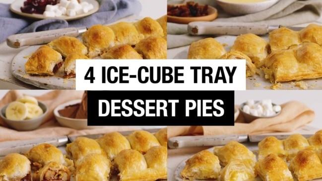 4 ice-cube tray dessert pies