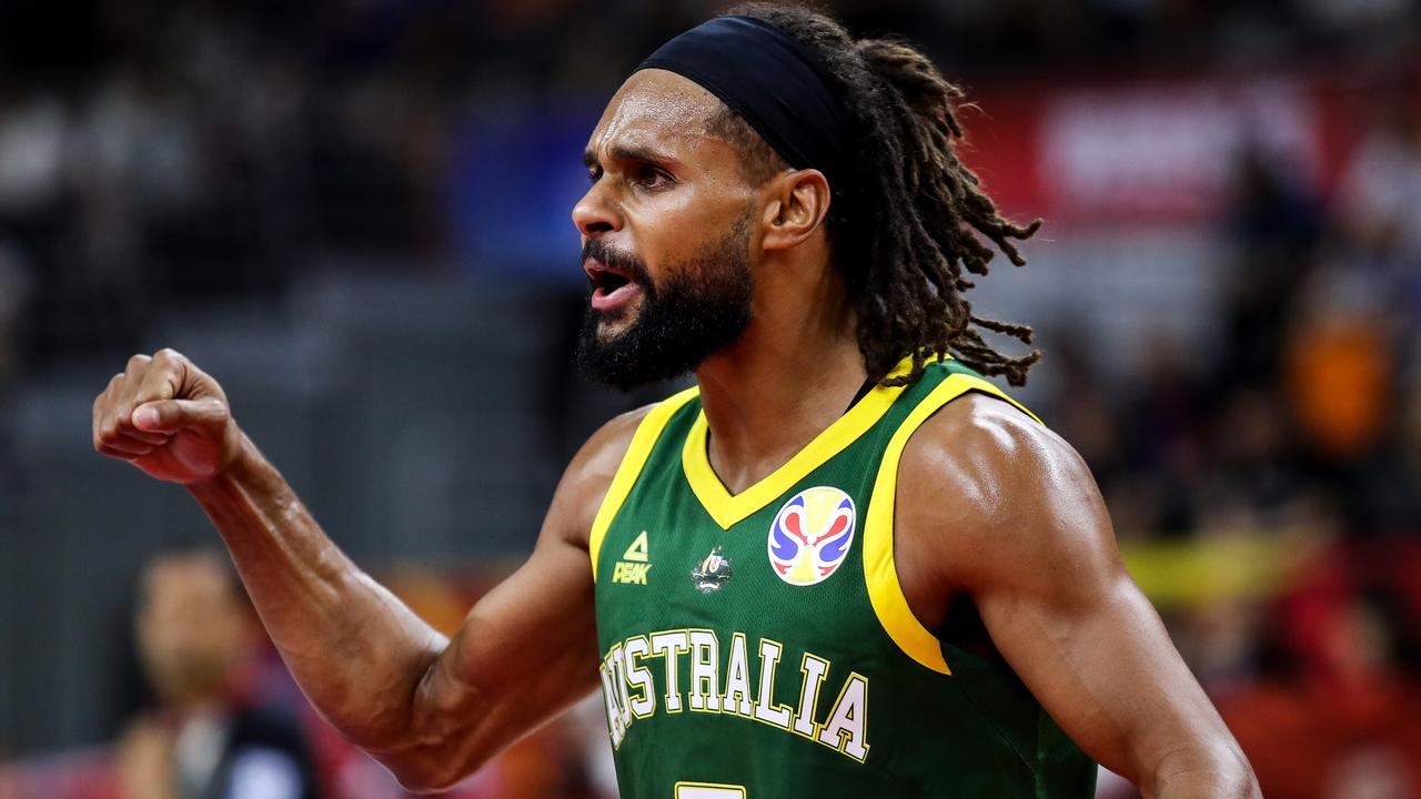 Patty Mills came up clutch for Australia.