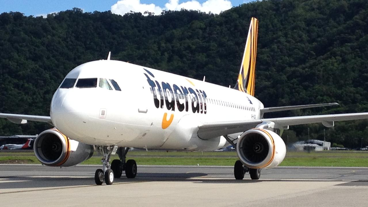 Seeing triple. Tigerair will base a third A320 out of Brisbane from next March. Picture: Supplied