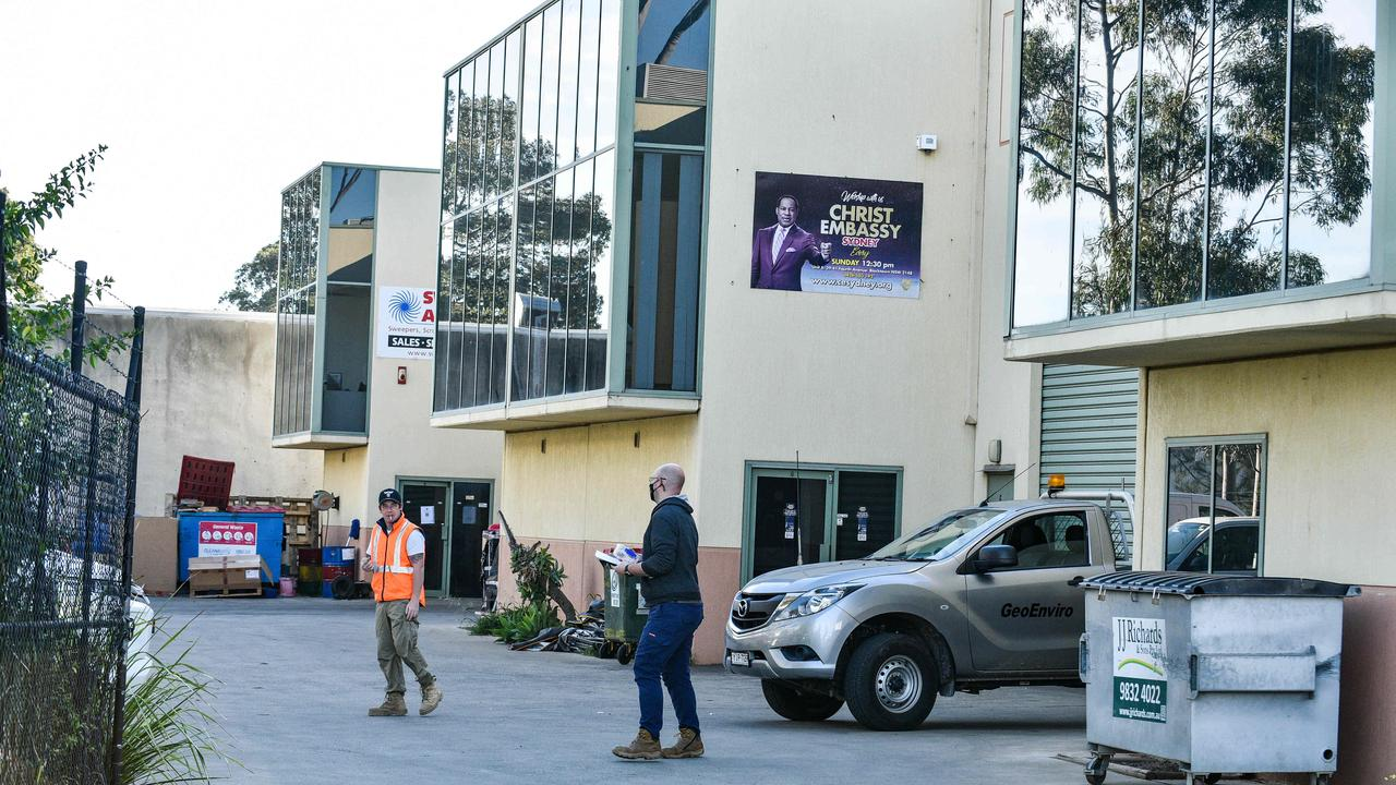 Police have issued 28 more fines after the church gathering. Picture: NCA NewsWire / Flavio Brancaleone