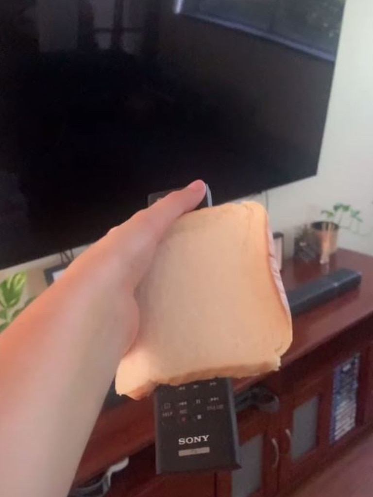 Changing the channel just got harder. Picture: TikTok.