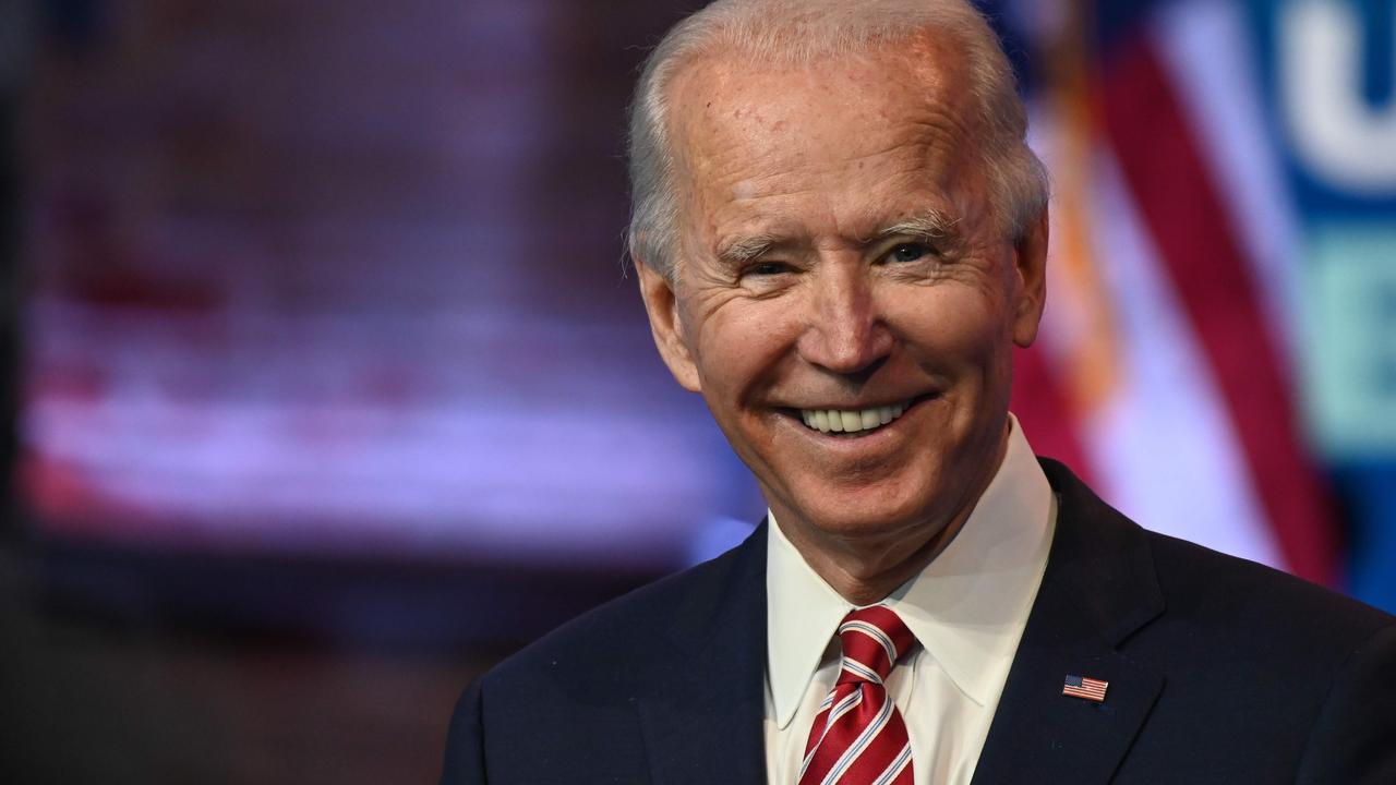 US President-elect Joe Biden has described Mr Trump's behaviour as 'an embarrassment'. Picture: Roberto Schmidt/AFP