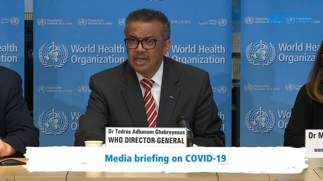World Health Organisation declares COVID-19 outbreak a pandemic