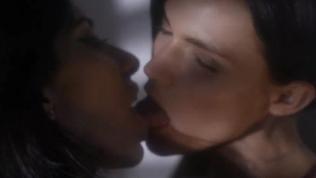 Ruby Rose and Jessica Origliasso get hot and heavy in new Veronicas film clip