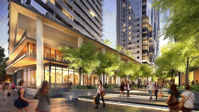 There will be close to 40,000 sqm of commercial and retail space and 750 apartments.