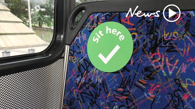 Bus passengers down to 12: New social distancing rules for NSW public transport