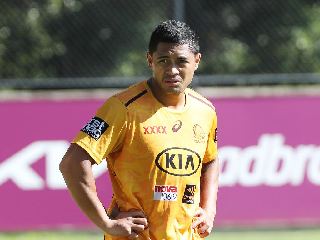 Anthony Milford at training.