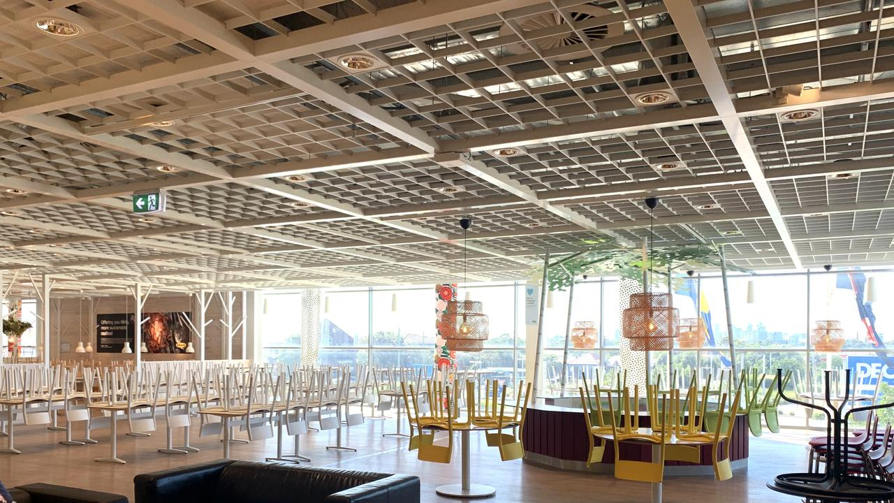 There will be no meatballs at the Ikea restaurant for a few weeks yet. Picture: Benedict Brook/news.com.au