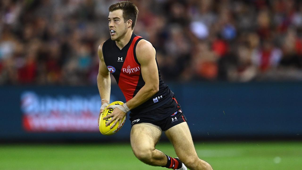 Zach Merrett has started his 2021 season brilliantly with the Bombers (Photo by Quinn Rooney/Getty Images).