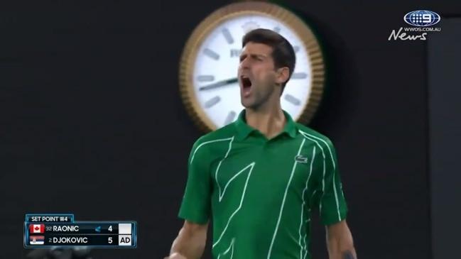 Djokovic roars through the first