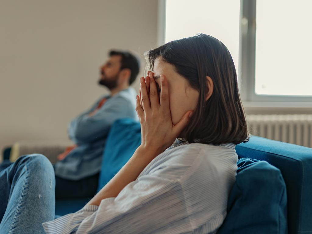The woman said she disliked her husband when he was with his family. Picture: iStock.