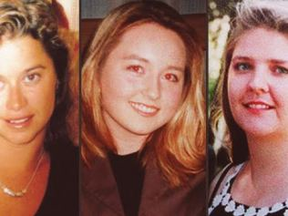 Victims: Sarah Spiers, Jane Rimmer and Ciara Glennon, who fell victim to the Claremont serial killer from January 1996 to March 1997.