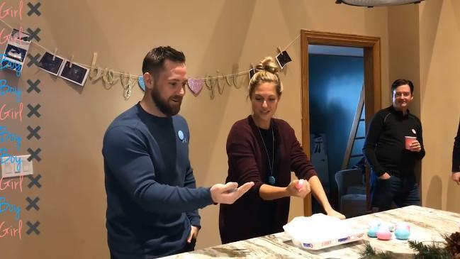 Couple take on 'Egg Roulette' gender reveal