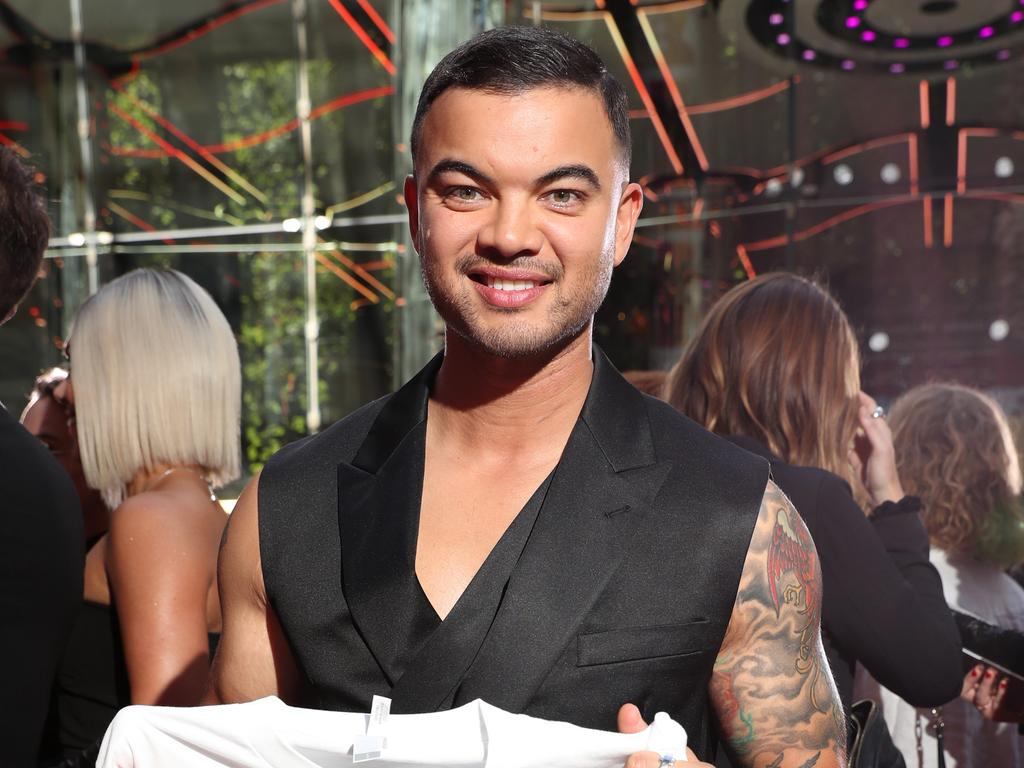 Guy Sebastian on the red carpet of the Aria Awards 2019, held at The Star Event Centre, Pyrmont. Picture: Jonathan Ng