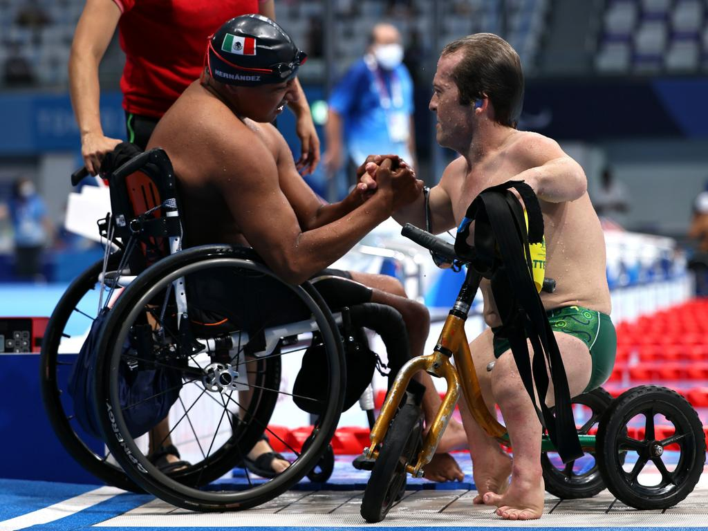 Patterson's Paralympic spirit is unmatched. Picture: Getty Images