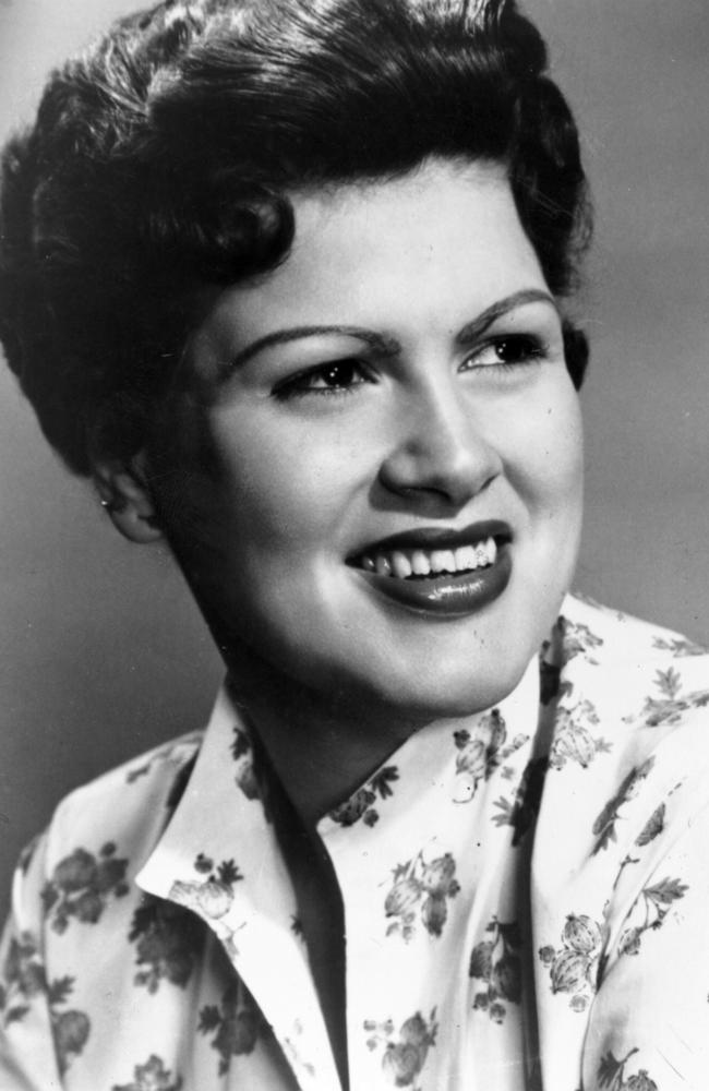 American country singer Patsy Cline.