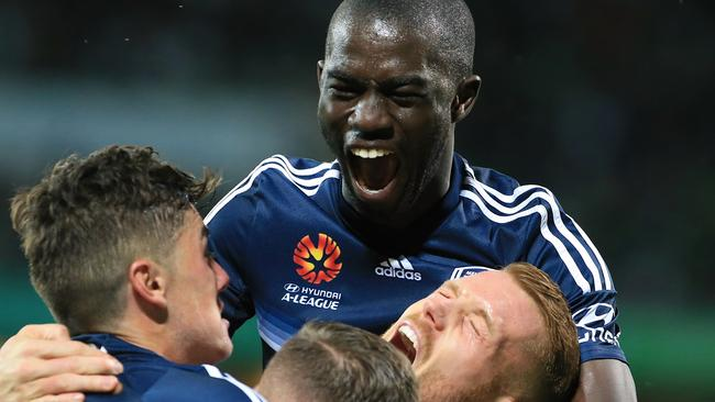 Jason Geria says he would welcome a new A-League team to Melbourne. Picture: AAP