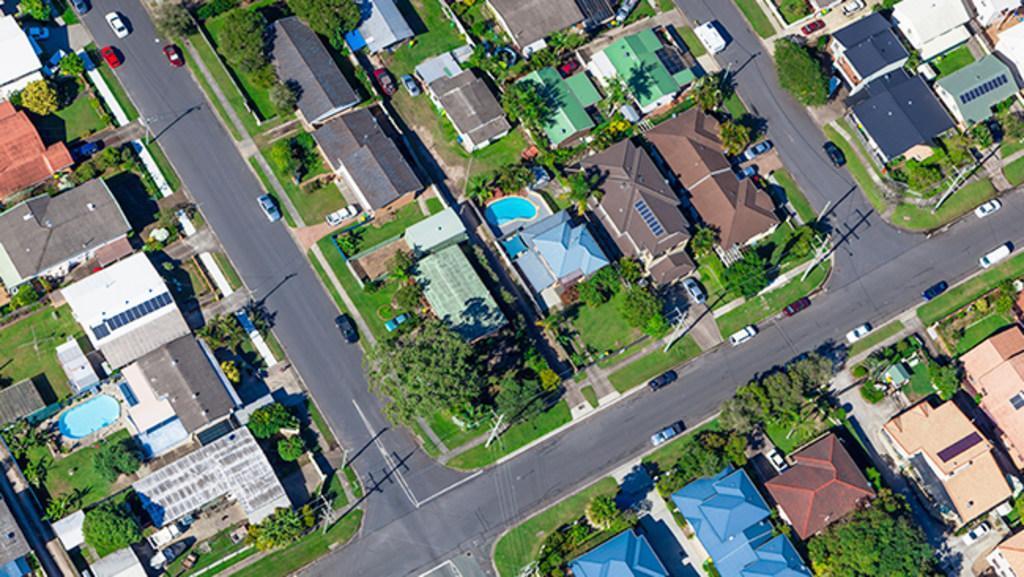 Evolution of Sydney's property prices since 1980