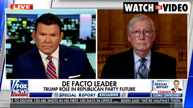 Mitch McConnell would 'absolutely' support Trump running for president again (Fox News)