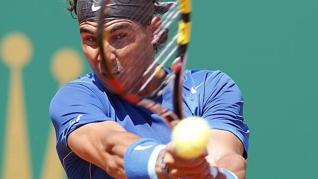 Rafael Nadal beat Andreas Seppi in the Spaniard's 300th ATP career victory on clay.