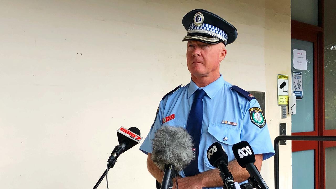 Richmond Police District Detective Chief Inspector Bill McKenna.