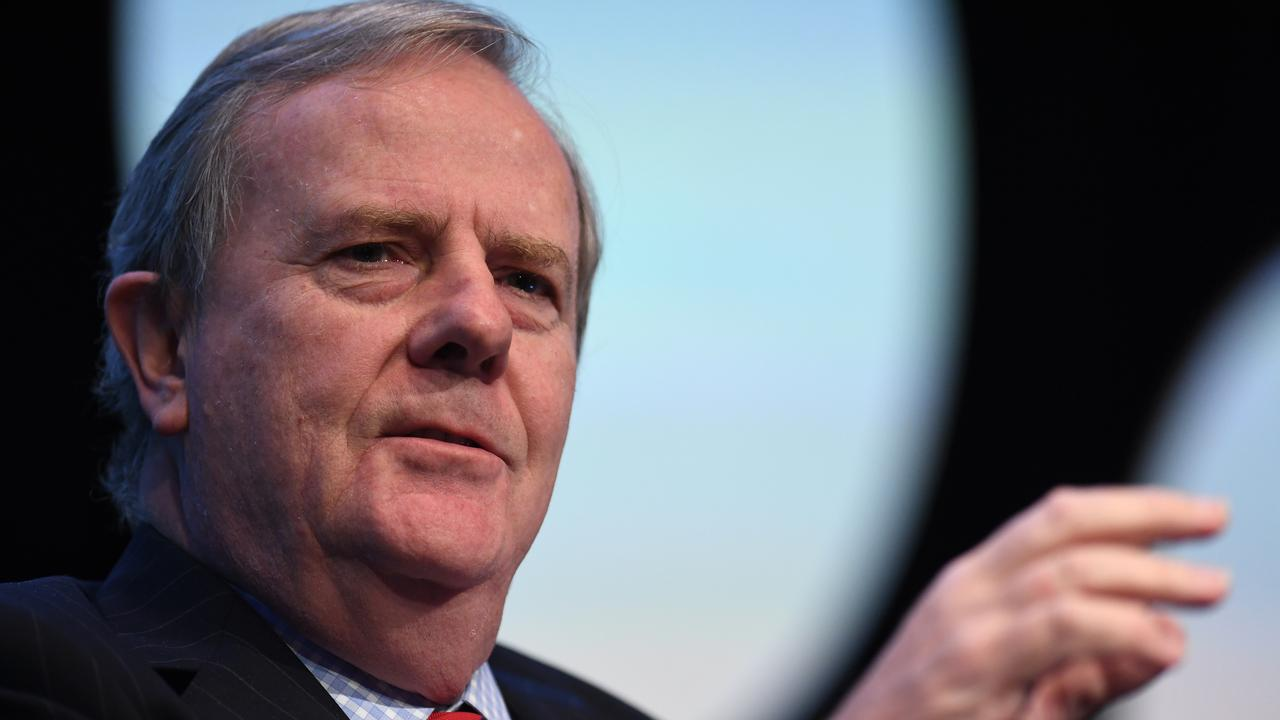 Former federal treasurer and Future Fund chairman Peter Costello.