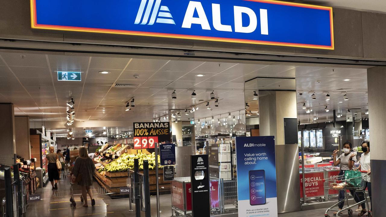There are 20 new Aldi stores coming to Australia. Picture: News Corp/Attila Csaszar