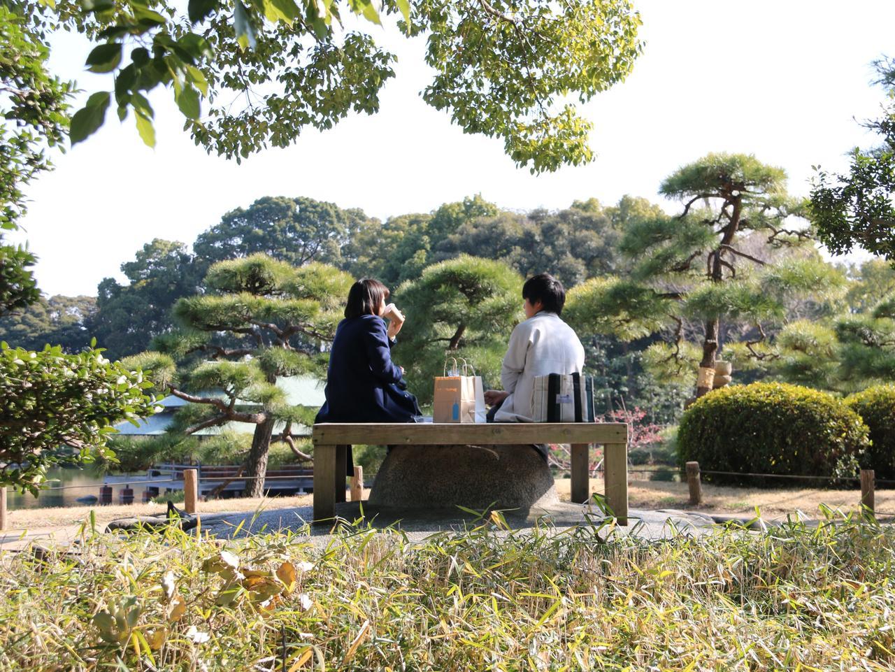 SUNDAY ESCAPE. TOKYO'S SECRET SUBURBS. JANE LAWSON. Kiyosumi Park picnic. Picture: Supplied / Jane Lawson