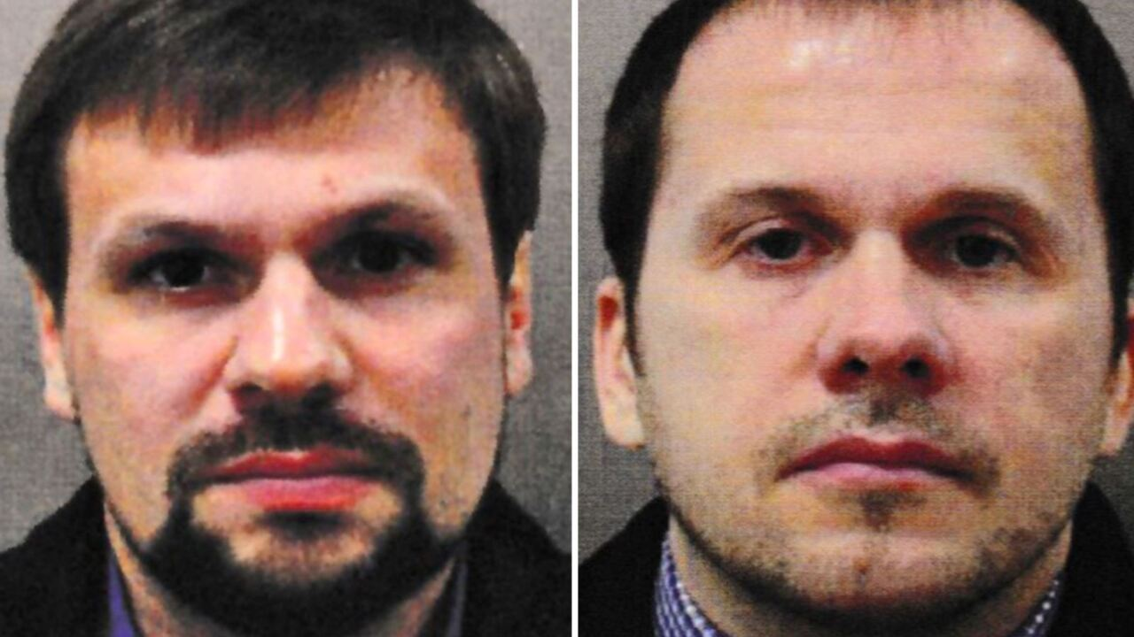 Manhunt underway for two Russian nationals linked to UK novichok attack