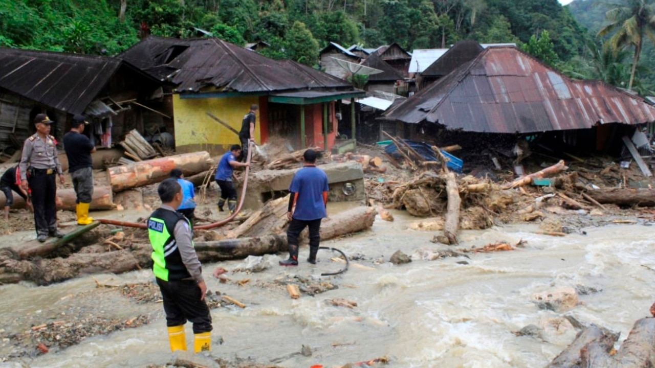 At least 22 killed in Indonesia floods, landslides